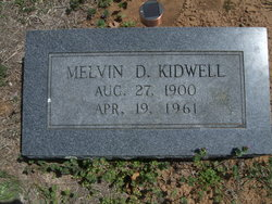 Melvin Dewey Kidwell