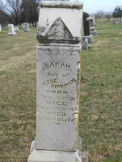Sarah <i>Leaverton</i> Kirkham