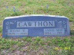 Annie Mae <i>Ray</i> Cawthon