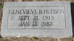 Ethel Genevieve B Hudson