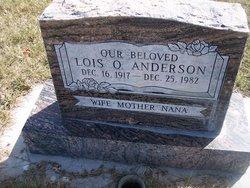 Lois <i>Olsen</i> Anderson