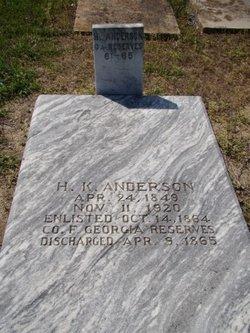 Hezekiah K. Anderson