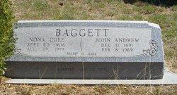 Nona <i>Cole</i> Baggett Daugherty
