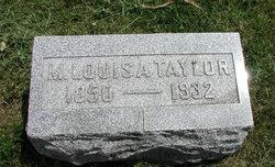 Mary Louisa <i>Certain</i> Taylor