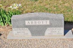 Mattie Morgan Mattie <i>Grumbles</i> Abbott
