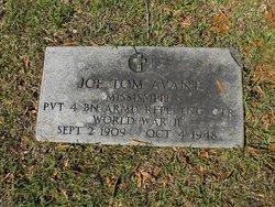Pvt Joseph Thomas Avant