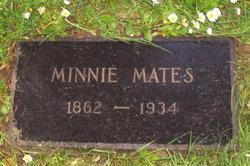 Minnie <i>Singleman</i> Mates