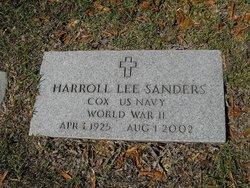Harroll Lee Bud Sanders