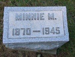 Minnie M <i>French</i> Burr