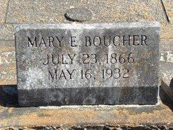 Mary Elizabeth <i>Wickizer</i> Boucher