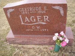 Gertrude E Lager