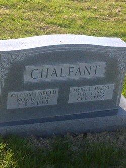 Myrtle Madge <i>Thurston</i> Chalfant
