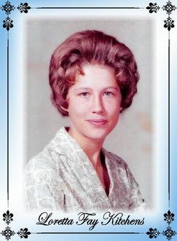 Loretta Faye <i>Kitchens</i> Wadlow