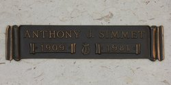 Anthony J Simmet