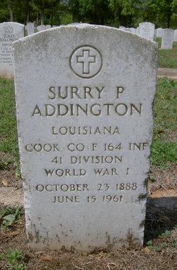Surry P. Addington