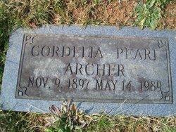 Cordelia Pearl Archer