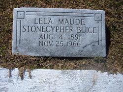 Leila Maude <i>Stonecypher</i> Buice