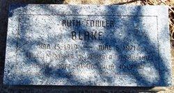 Ruth <i>Fowler</i> Blake