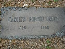 Carolyn Monroe <i>Dupre</i> Latta