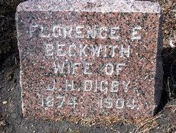 Florence E. <i>Beckwith</i> Digby