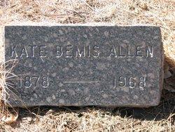 Kate <i>Bemis</i> Allen