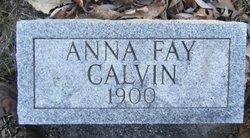 Anna Fay Calvin