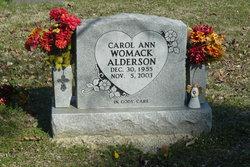 Carol Ann <i>Womack</i> Alderson