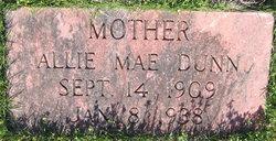 Allie Mae <i>Koon</i> Dunn