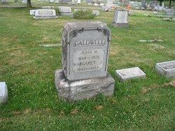 Margaret J. <i>Lesnett</i> Caldwell