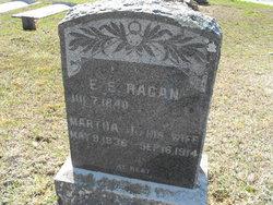 Martha Jane <i>Gill</i> Shelten Ragan