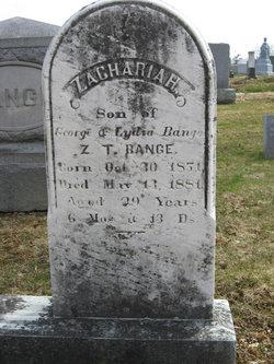 Zachariah Bange