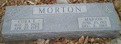 Marion I Morton