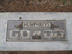 Mable Elizabeth <i>Whisenhunt</i> Humphreys