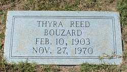 Thyra <i>Reed</i> Bouzard