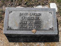 David Carson Castles, Sr