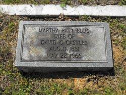 Martha Curtis(Curry) Patt <i>Ellis</i> Castles