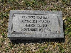 Frances Henrietta <i>Castles(Reynolds)</i> Harder