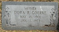 Dora Rowena <i>Tousley</i> Goerke