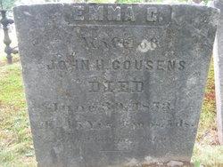 Emma G <i>Joy</i> Cousens
