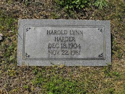 Harold Lynn Harder