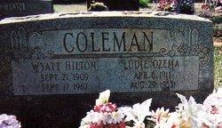 Wyatt Hilton Red Coleman