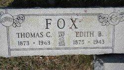 Edith B <i>Fleagle</i> Fox