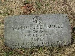 PFC Samuel Joel McGee