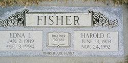 Edna L. <i>Gilkison</i> Fisher