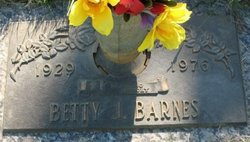 Betty J. Barnes