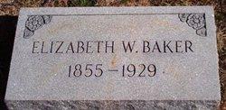 Elizabeth <i>Williams</i> Baker