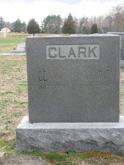 Judith F <i>Hanks</i> Clark