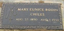 Mary Eunice <i>Bodin</i> Chiles