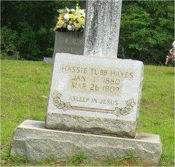 Mary Hassie <i>Tubb</i> Hayes