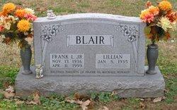 Frank L Blair, Jr